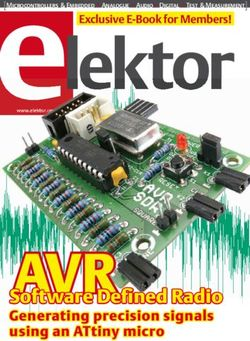 AVRSoftware Defined Radio Generating precision signals using an ATtiny micro