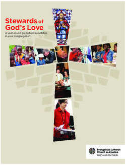 God's Love Stewards of A year-round guide to stewardship