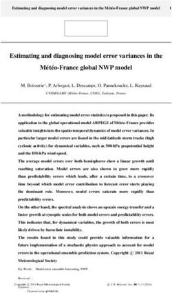 Estimating and diagnosing model error variances in the M et eo-France global NWP model