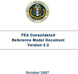 FEA Consolidated Reference Model Document Version 2.3