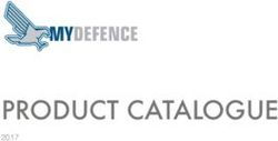 MyDefence Product Catalogue 2017