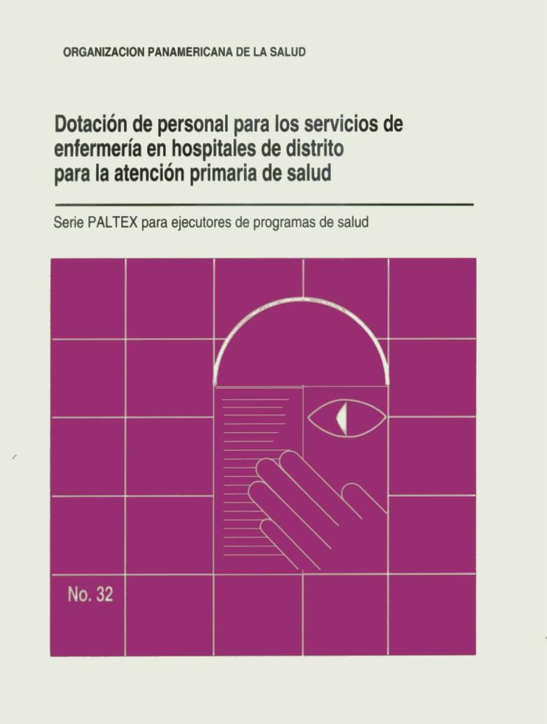 Dotación de personal para los servicios de enfermería en hospitales ...