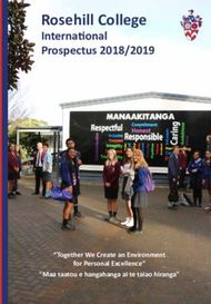 "Rosehill College International Prospectus 2018/2019 - ""Together We ..."