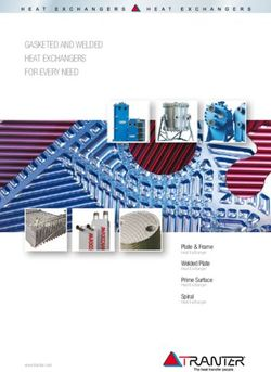 GASKETED AND WELDED HEAT EXCHANGERS FOR EVERY NEED