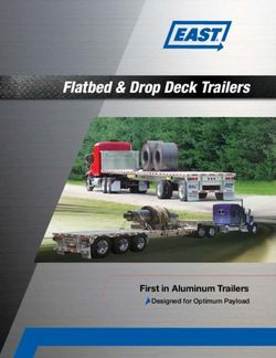 Flatbed & Drop Deck Trailers