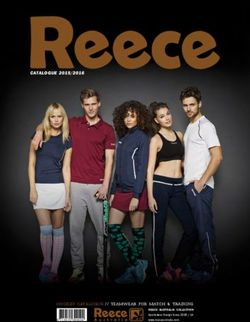 Reece Australia Collection Sportswear 2015/16. Hockey Catalogue / Teamwear for Match & Training.