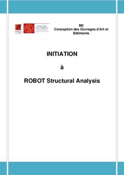 INITIATION ROBOT Structural Analysis