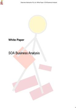 SOA Business Analysis White Paper Business Abstraction Pty Ltd White Paper SOA Business Analysis