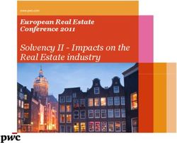 Solvency II - Impacts on the Real Estate industry