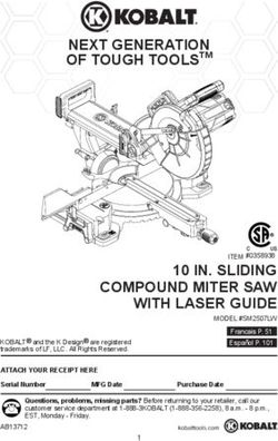 NEXT GENERATION OF TOUGH TOOLSTM 10 IN. SLIDING COMPOUND MITER SAW WITH LASER GUIDE