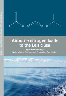 Airborne nitrogen loads to the Baltic Sea