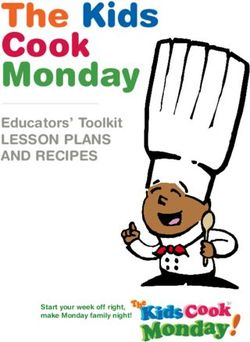 The Kids Cook Monday Educators' Toolkit LEsson PLans and RECIPEs