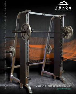 Yukon Fitness Equipment Catalogue 2013 - 2014