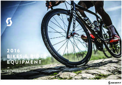 Scott Bikes & Rider Equipment. Catalogue 2016.