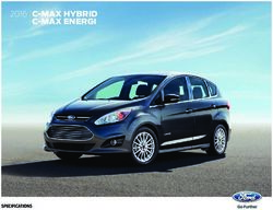Ford C-Max 2016 Specifications