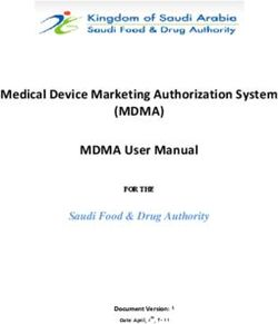 (MDMA) - Medical Device Marketing Authorization System