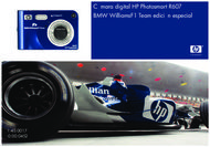 Cámara digital HP Photosmart R607 BMW WilliamsF1 Team edición especial