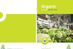 Organic Retail Catalogue 2017 - Rijk Zwaan
