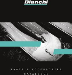 Bianchi - Parts & Accessories Catalogue 2019