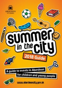 2018 Guide A guide to events in Aberdeen
