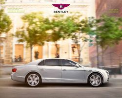 Bentley. The New Flying Spur. Catalogue 2014.