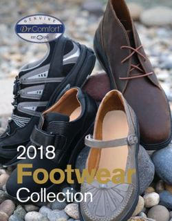 Footwear - 2018 Collection