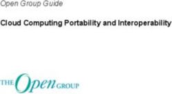 Cloud Computing Portability and Interoperability