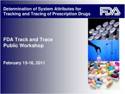 FDA Track and Trace Public Workshop