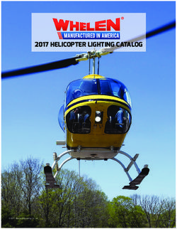 2017 Helicopter Lighting Catalog - Whelen Engineering