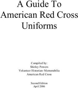 A Guide To American Red Cross Uniforms