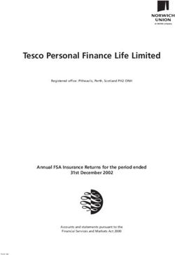 Tesco Personal Finance Life Limited