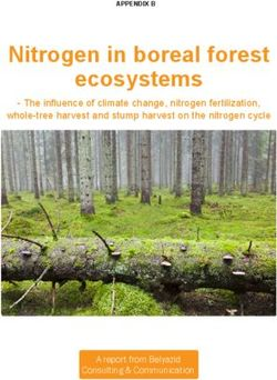 Nitrogen in boreal forest ecosystems - The influence of climate change, nitrogen fertilization