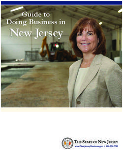 New Jersey Doing Business in Guide to