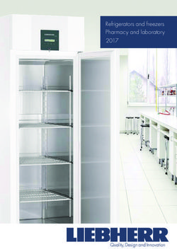 Refrigerators and freezers Pharmacy and laboratory 2017 Liebherr