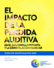 ON FAMILY CONNECTIONS AND CHILD DEVELOPMENT - FORO DE INVESTIGACIÓN ...