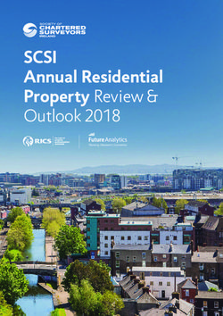 SCSI - Annual Residential - Property Review & Outlook 2018