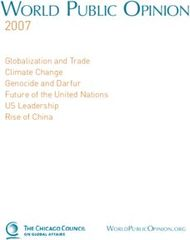 WORLD PUBLIC OPINION 2007 - Globalization and Trade Climate Change Genocide and Darfur Future of the United Nations US Leadership Rise of China