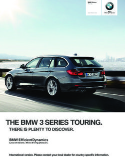 The bmw series touring. there is plenty to discover.