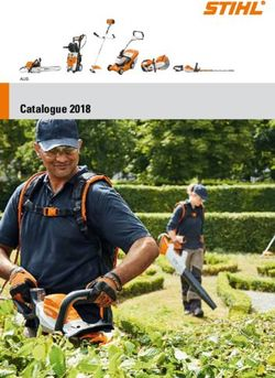 Stihl Catalogue 2018
