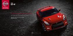 Nissan GT-R 2016. Digital Brochure.
