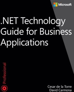NET Technology Guide for Business Applications