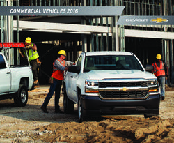 Chevrolet Commercial Vehicles 2016 Catalog