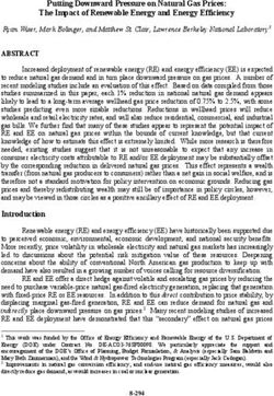 Putting Downward Pressure on Natural Gas Prices: The Impact of Renewable Energy and Energy Efficiency